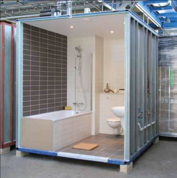 Applications Modular Construction Bathroom Pods