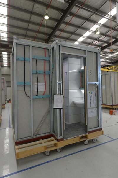 Applications Modular Construction Bathroom Pods