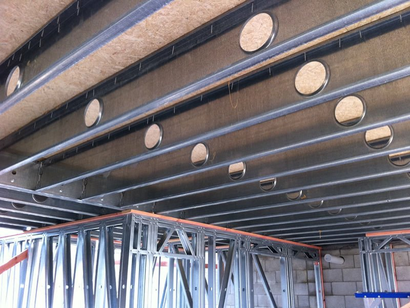 Floor joist system – construction manual