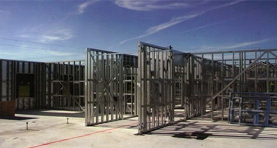 Ireland welcomes the Dryform steel frame building system